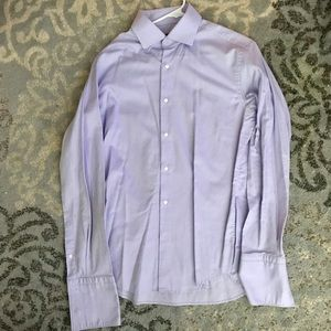 Boss by Hugo Boss Purple Dress Shirt size 42, 16.5